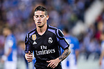 James Rodriguez of Real Madrid reacts during their La Liga match between Deportivo Leganes and Real Madrid at the Estadio Municipal Butarque on 05 April 2017 in Madrid, Spain. Photo by Diego Gonzalez Souto / Power Sport Images