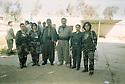 Iraq 2003 .Men and women peshmerga of PUK in the liberated Khanakin.Irak 2003.Hommes et femmes peshmergas de l'UPK dans Khanakin liberee