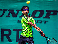 Hilversum, Netherlands, Juli 29, 2019, Tulip Tennis center, National Junior Tennis Championships 12 and 14 years, NJK, Jessy Tan (NED)<br /> Photo: Tennisimages/Henk Koster