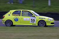Round 9 of the 2002 British Touring Car Championship. #59 Annie Templeton (GBR). Tech-Speed Motorsport. Peugeot 306GTi.