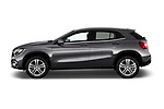 Car driver side profile view of a 2018 Mercedes Benz GLA Base 5 Door SUV
