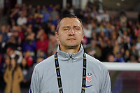 CARSON, CA - FEBRUARY 7: United States head coach Vlatko Andonovski during a game between Mexico and USWNT at Dignity Health Sports Park on February 7, 2020 in Carson, California.