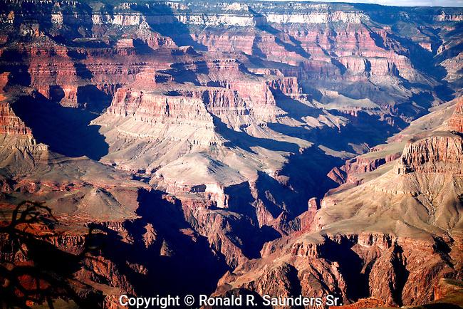 Grand Canyon vista at sundown<br /> (6)