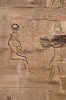 Afrique/Egypte/Edfou: Le temple d'Edfou consacré à Horus