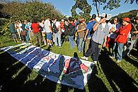 Manifestação pela liberação da maconha, Parque do Ibirapuera. São Paulo. 2008. Foto de Juca Martins.