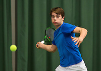 Rotterdam, The Netherlands, March 20, 2016,  TV Victoria, NOJK 14/18 years, Ryan Nijboer (NED<br /> Photo: Tennisimages/Henk Koster