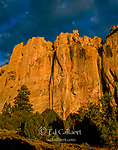 Sunrise, Inscription Rock, El Morro National Monument, New Mexico