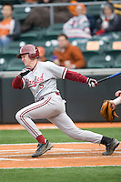 Zach Jones of the Stanford Cardinal against the Texas Longhorns at  UFCU Disch-Falk Field in Austin, Texas on Friday February 26th, 2100.  (Photo by Andrew Woolley / Four Seam Images)