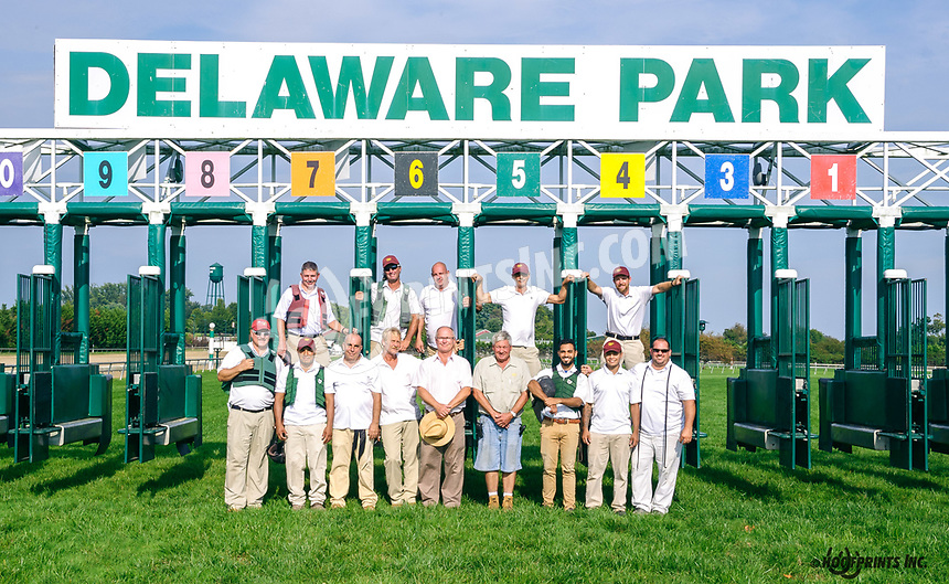 2018 Gate Crew at Delaware Park on 10/4/18