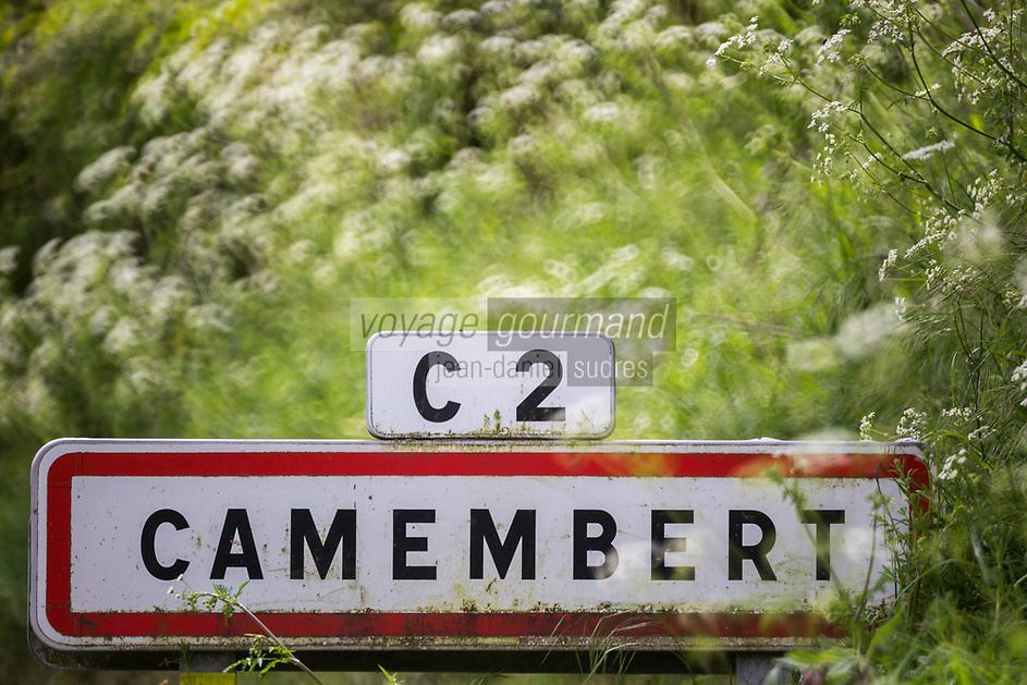 France, Orne (61), Pays d'Auge, Camembert,  // France, Orne, Pays d'Auge, Camembert,