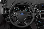 Car pictures of steering wheel view of a 2019 Ford Transit-Connect XL 5 Door Car Van Steering Wheel