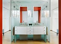 Modernist Bathroom Drama