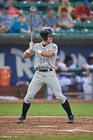 Joey Bartosic (5) of the Grand Junction Rockies bats against the Ogden Raptors at Lindquist Field on September 6, 2017 in Ogden, Utah. Ogden defeated Grand Junction 11-7. (Stephen Smith/Four Seam Images)