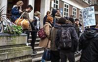 31.01.2014 - Student Demo in Support & Solidarity with Arrestees in Birmingham