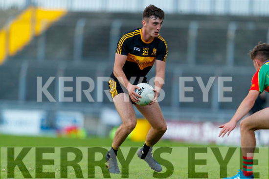 David Shaw, Dr. Crokes during the Kerry County Senior Football Championship Semi-Final match between Mid Kerry and Dr Crokes at Austin Stack Park in Tralee, Kerry.