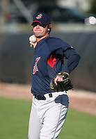 Cleveland Indians minor leaguer Scott Sumner during Spring Training at the Chain of Lakes Complex on March 17, 2007 in Winter Haven, Florida.  (Mike Janes/Four Seam Images)