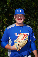 Ryan Weathers (21) of Loretto High School in Loretto, Tennessee poses for a photo before the Under Armour All-American Game presented by Baseball Factory on July 29, 2017 at Wrigley Field in Chicago, Illinois.  (Mike Janes/Four Seam Images)