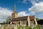 Hartfield East Sussex. St Mary the Virgin Church Hartfield.