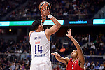 Real Madrid's Gustavo Ayonduring Turkish Airlines Euroleage match between Real Madrid and EA7 Emporio Armani Milan at Wizink Center in Madrid, Spain. January 27, 2017. (ALTERPHOTOS/BorjaB.Hojas)