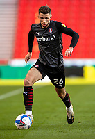 31st October 2020; Bet365 Stadium, Stoke, Staffordshire, England; English Football League Championship Football, Stoke City versus Rotherham United; Daniel Barlaser of Rotherham United