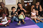 Toddler music class at Head Start program for parents and children