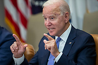 JUL 22 Joe Biden meets with union and business leaders