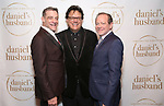 """Lou Liberatore, Joe Brancato and Michael McKeever during the Opening Night Celebration for """"Daniel's Husband"""" at the West Bank on October 28, 2018 in New York City."""
