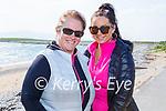 Enjoying a stroll in Fenit on Thursday, l to r: Ann Marie and Clodagh Harrington.