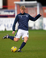 19th December 2020; Dens Park, Dundee, Scotland; Scottish Championship Football, Dundee FC versus Dunfermline; Max Anderson of Dundee during the warm up before the match