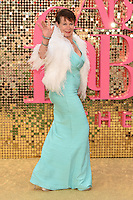 """Celia Imrie<br /> arrives for the World Premiere of """"Absolutely Fabulous: The Movie"""" at the Odeon Leicester Square, London.<br /> <br /> <br /> ©Ash Knotek  D3137  29/06/2016"""