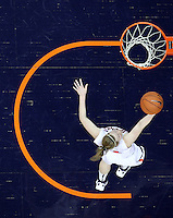 CHARLOTTESVILLE, VA- JANUARY 5: Lexie Gerson #14 of the Virginia Cavaliers shoots a basket during the game against the North Carolina Tar Heels on January 5, 2012 at the John Paul Jones arena in Charlottesville, Virginia. North Carolina defeated Virginia 78-73. (Photo by Andrew Shurtleff/Getty Images) *** Local Caption *** Lexie Gerson
