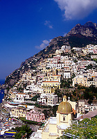 Mediterranean seaside villiage. Positano, Italy