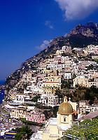 Mediterranean seaside villiage. Positano, Italy
