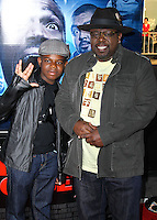 """LOS ANGELES, CA, USA - APRIL 16: Croix Kyles, Cedric the Entertainer at the Los Angeles Premiere Of Open Road Films' """"A Haunted House 2"""" held at Regal Cinemas L.A. Live on April 16, 2014 in Los Angeles, California, United States. (Photo by Xavier Collin/Celebrity Monitor)"""