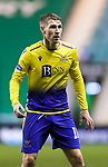 Hibs v St Johnstone…24.11.20   Easter Road      SPFL<br />David Wotherspoon <br />Picture by Graeme Hart.<br />Copyright Perthshire Picture Agency<br />Tel: 01738 623350  Mobile: 07990 594431