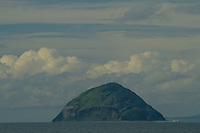 Ailsa Craig and Bennane Head from Ballantrae, Ayrshire<br /> <br /> Copyright www.scottishhorizons.co.uk/Keith Fergus 2011 All Rights Reserved