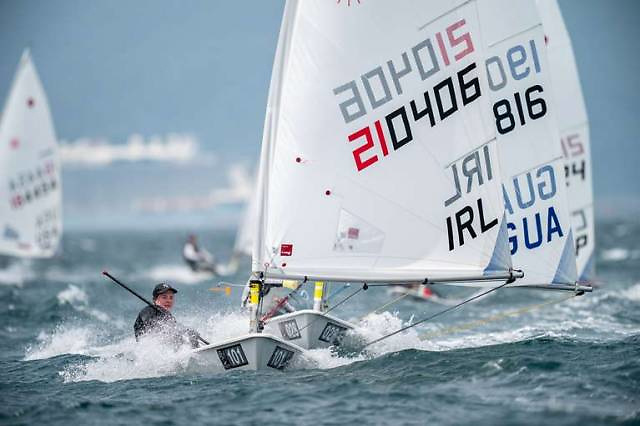 Tipperary's Aisling Keller on her way to securing Ireland's place at the Tokyo Olympics in the Laser Radial class at the 2019 World Championships in Japan. The subsequent handling of the 2020 selection process for Radial nomination to the Olympic Federation of Ireland should be the subject of an independent review, according to former Irish Sailing President Roger Bannon.