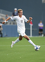 Stuart Holden controls the ball. USA defeated Grenada 4-0 during the First Round of the 2009 CONCACAF Gold Cup at Qwest Field in Seattle, Washington on July 4, 2009.