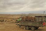 Israel, the unrecognized Bedouin village Beer Mashash in the Negev