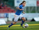 St Johnstone v St Mirren.....11.01.14   SPFL<br /> Stevie May<br /> Picture by Graeme Hart.<br /> Copyright Perthshire Picture Agency<br /> Tel: 01738 623350  Mobile: 07990 594431