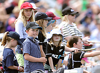 Fans watch during day two of the second International Test Cricket match between the New Zealand Black Caps and Pakistan at Hagley Oval in Christchurch, New Zealand on Monday, 4 January 2021. Photo: Martin Hunter / lintottphoto.co.nz