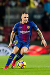 Francisco Alcacer Garcia, Paco Alcacer, of FC Barcelona in action during the La Liga 2017-18 match between FC Barcelona and Sevilla FC at Camp Nou on November 04 2017 in Barcelona, Spain. Photo by Vicens Gimenez / Power Sport Images