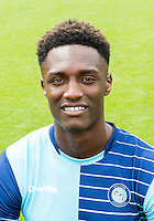 Anthony Stewart of Wycombe Wanderers during the Wycombe Wanderers 2016/17 Team & Individual Squad Photos at Adams Park, High Wycombe, England on 1 August 2016. Photo by Jeremy Nako.