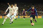 UEFA Champions League 2018/2019.<br /> Quarter-finals 2nd leg.<br /> FC Barcelona vs Manchester United: 3-0.<br /> Chris Smalling, Victor Lindelof & Philippe Coutinho.