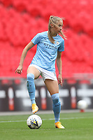 29th August 2020; Wembley Stadium, London, England; Community Shield Womens Final, Chelsea versus Manchester City; Janine Beckie of Manchester City Women