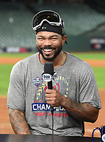 HOUSTON - OCTOBER 30: Howie Kendrick following World Series Game 7: Washington Nationals at Houston Astros on Fox Sports at Minute Maid Park on October 30, 2019 in Houston, Texas. (Photo by Frank Micelotta/Fox Sports/PictureGroup)