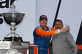 Scott Dixon, Chip Ganassi Racing Honda, Steve Williams of Verizon