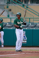 USF Bulls designated hitter Chris Chatfield (24) at bat during a game against the Dartmouth Big Green on March 17, 2019 at USF Baseball Stadium in Tampa, Florida.  USF defeated Dartmouth 4-1.  (Mike Janes/Four Seam Images)