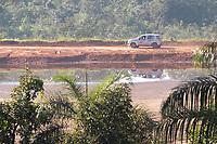 BRUMADINHO, MG, 29.01.2019:ROMPIMENTO DA BARRAGEM EM BRUMADINHO. Barragem da empresa MIB mineradora que opera proximo ao local do desastre ambiental na represa da Cia Vale, é inspecionada contantemente em Corrego do Feijao-Brumadinho, região metropolina de Belo Horizonte, MG, na manhã desta terça feira   (29) (foto Giazi Cavalcante/Codigo19)