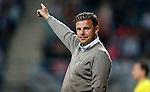 Nederland, Almelo, 29 augustus 2015<br /> Eredivisie<br /> Seizoen 2015-2016<br /> Heracles Almelo-FC Twente<br /> John Stegeman, trainer-coach van Heracles Almelo